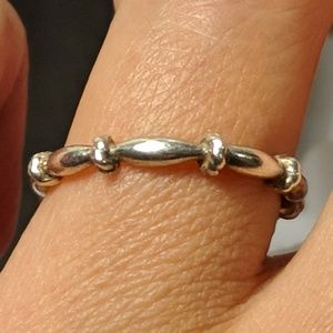 Jewelry - Artist Sexy Skinny Band Sterling Silver Ring Sz 6
