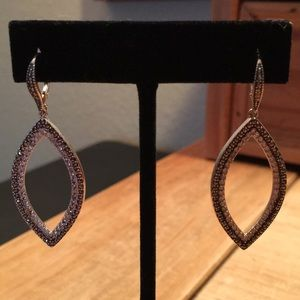 Judith Jack Drop Silver Earrings