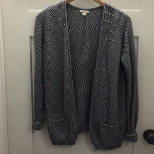 Xhilaration Knitted Buttonless Cardigan