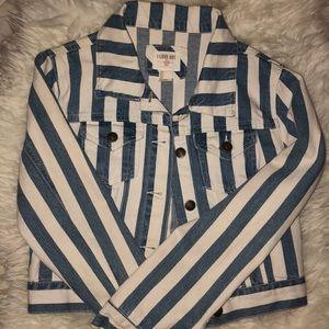 Vintage Forever 21 Cropped Denim Jacket