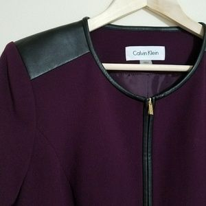 Calvin Klein Purple Jacket