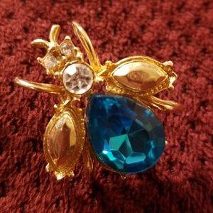 Jewelry - 🐛🐝🐞VINTAGE  bug pin
