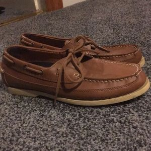 Polo boat shoes