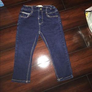 Zara boys denim jeans- size 18-24mos