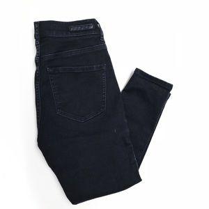 Super High Rise Black Express Jeans