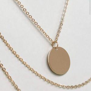 Multi chain necklace