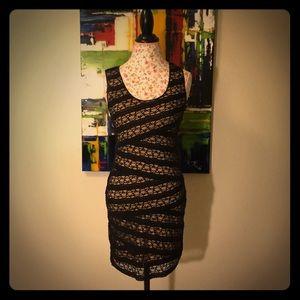 NWOT MaxStudio Black Lace Dress