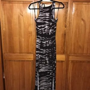 Women's Venus, Medium Brown/White Maxi dress