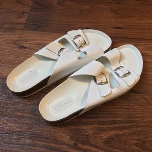 "Topshop buckle ""Birkenstock"" style sandal 39"