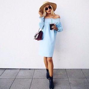 Zara Woman Off the Shoulder Dress sz XS