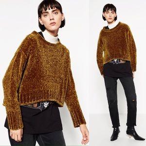 Full Chenille Sweater