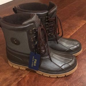 Polo Rally h Lauren wet weather boots Sz 14?