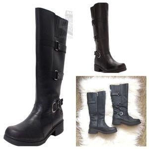Harley Davidson Raegan black leather boots