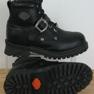 """Harley Davidson """"Faded Glory"""" Motorcycle Boots"""