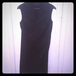 Narcisco Rodriguez black sheath dress