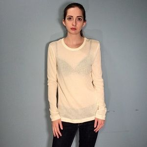 Rag + Bone Cream Sweater Size L