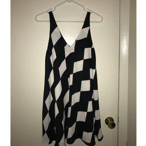 Sam Edelman checkered tent dress size 0
