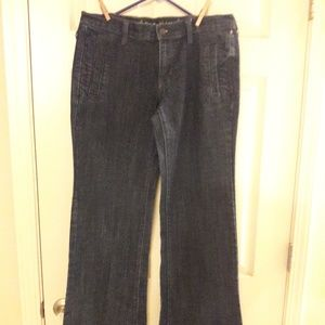 OLD NAVY FLARE JEANS  SIZE 8