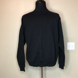 {champion} Men's Black Sweatshirt