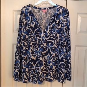 Lilly Pulitzer Meg Tunic Top