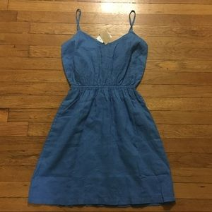 Blue J. Crew sundress NWT