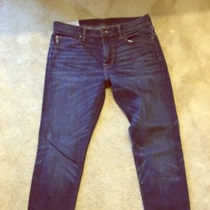 Men's Abercrombie and Fitch Super Skinny Jeans