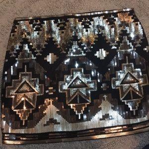 Sequins Express miniskirt