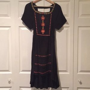NWT Free People black dress size xs