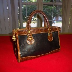 Vintage Tuscan Leather MINI Satchel Dr Bag