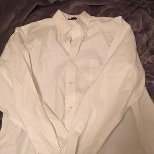White land end dress shirt
