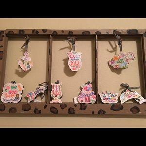 Other - Sorority Mini wall hangers