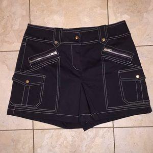 Cache skort Black sexy multiple pockets golf skort