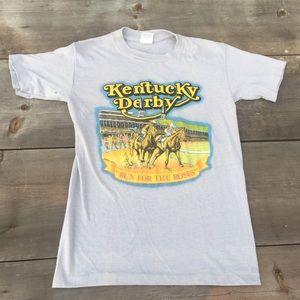 VTG 1987 Kentucky Derby t-shirt SZ S