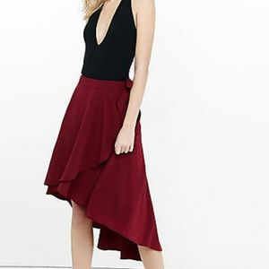 Hi Low wrap skirt