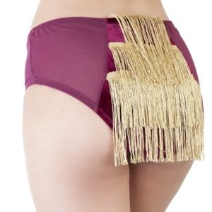 Peek & Beau Intimates & Sleepwear - MAJOR VELVET HIGH WAIST BRIEF