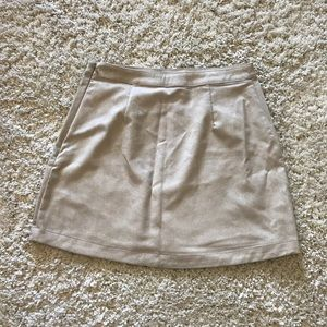 Abercrombie & Fitch Suede-Like Skirt