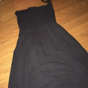 Other - Black tube top dress from abercrombie