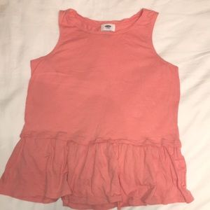 Old navy ruffle tank