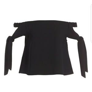 Topshop off shoulder shirt