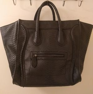 Just fab Black Celine bag replicate!