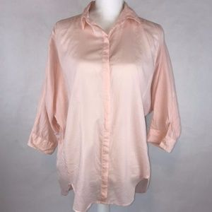 Ann Taylor LOFT Softened Top Size M