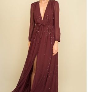 Chan Luu Maxi Dress