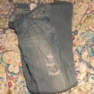Abercrombie and Fitch  distressed Jeans