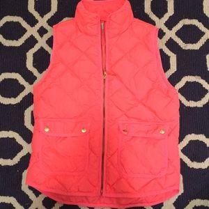 J. CREW Orange/Pink vest!