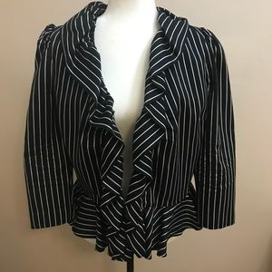RALPH LAUREN Women's Black Blazer Jacket Size 10