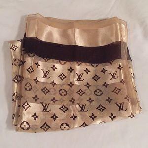 Silk Louis Vuitton Scarf