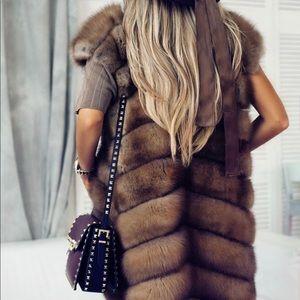 🔥🔥🔥Limited edition!!!Real fur vest!