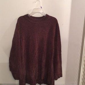Sweaters - Beautiful Brown High Low Sweater