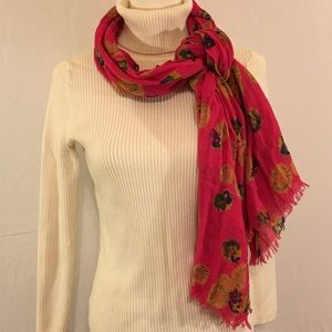 American Eagle Outfitters Scarf Pink & Floral
