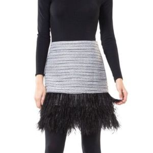 Sail to Sable feather skirt NEW
